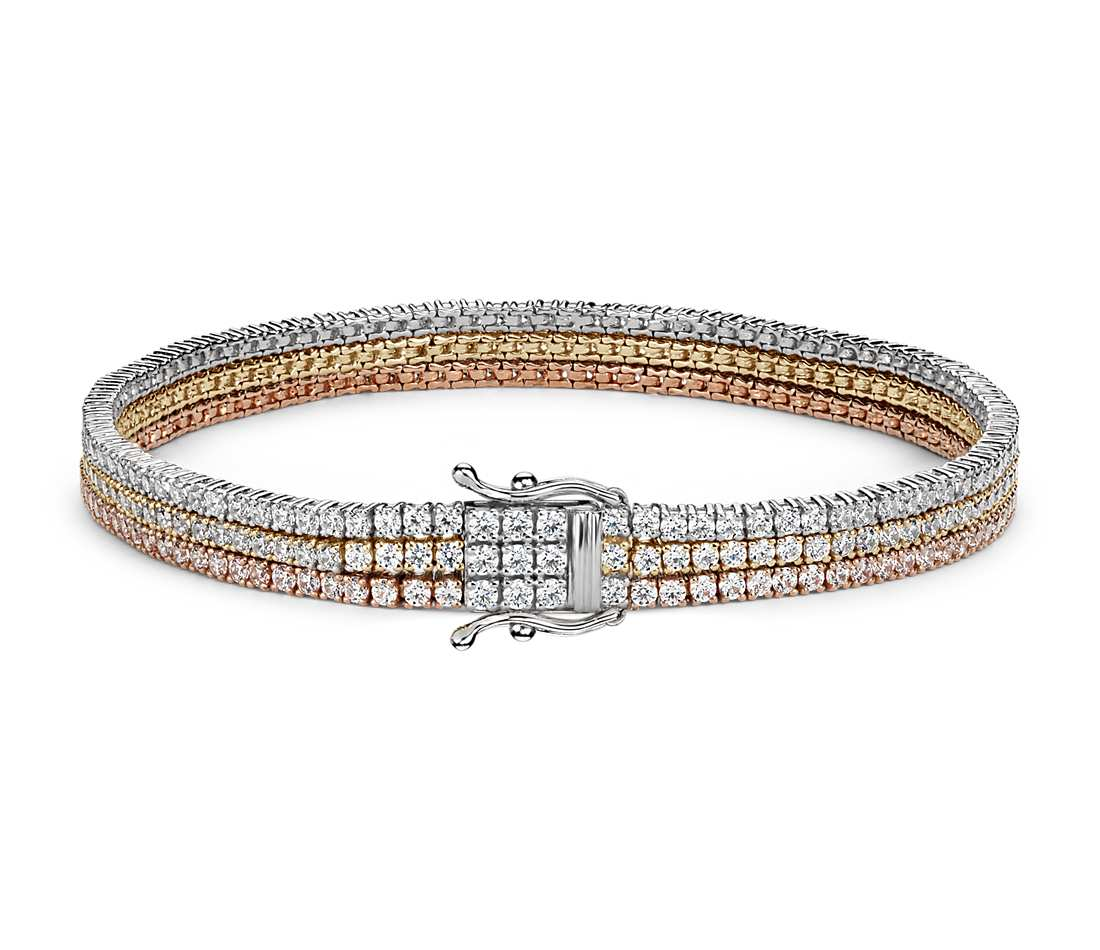 line jewelry white gold style riviera diamond product bracelet collection in unique