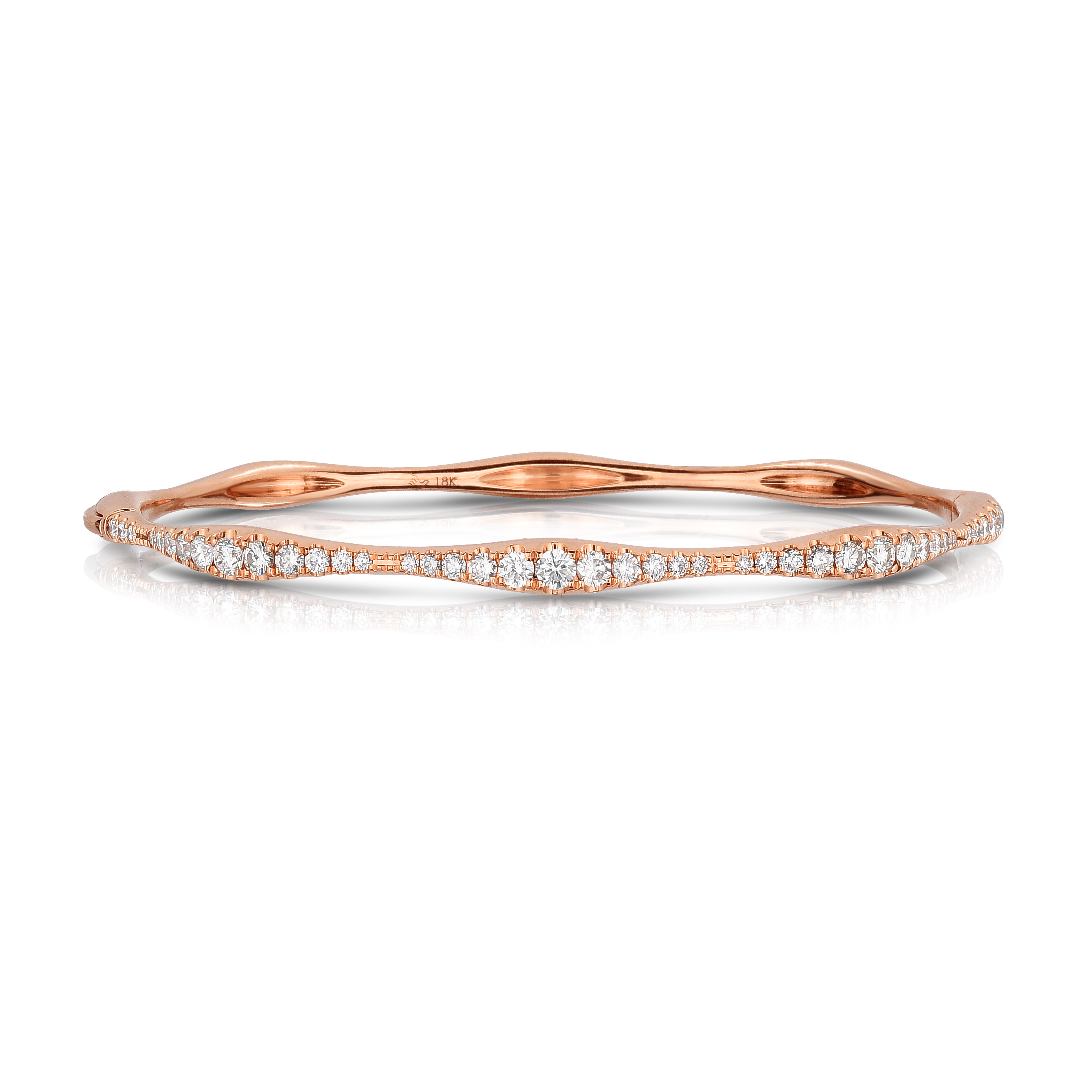twisted bangle rose gold products y diamond jewelers bangles nuha rope bracelet
