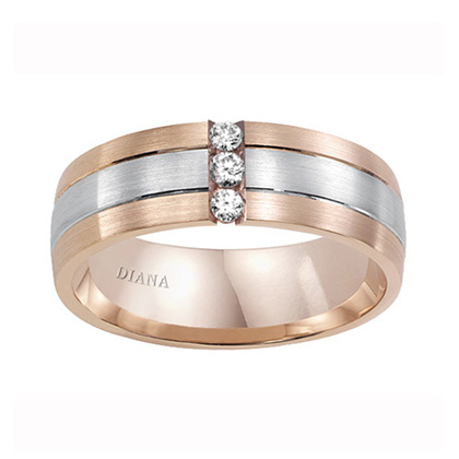 Wedding band, Gents Wedding band, White gold Wedding band, Yellow gold Wedding band, Rose gold Wedding band