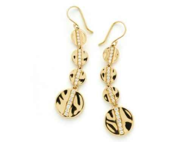 Fancy Gold Earrings Jewelry Design Gallery
