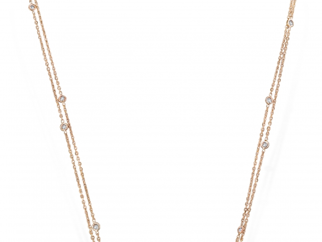Diamond pendant, Cluster Diamond pendant, butterfly necklace