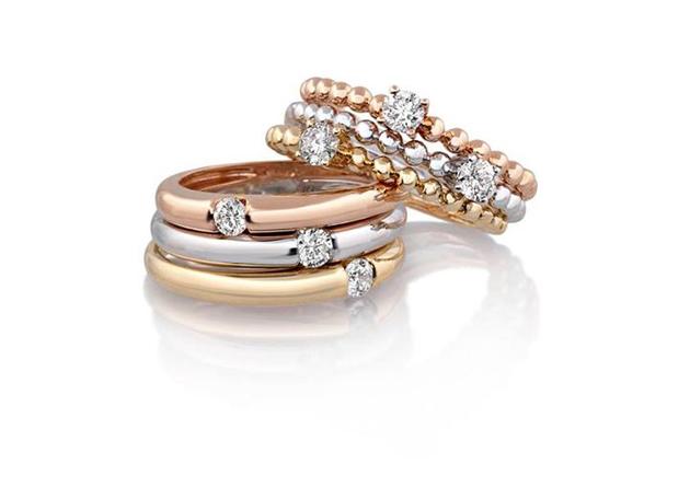 custom ring, stack ring