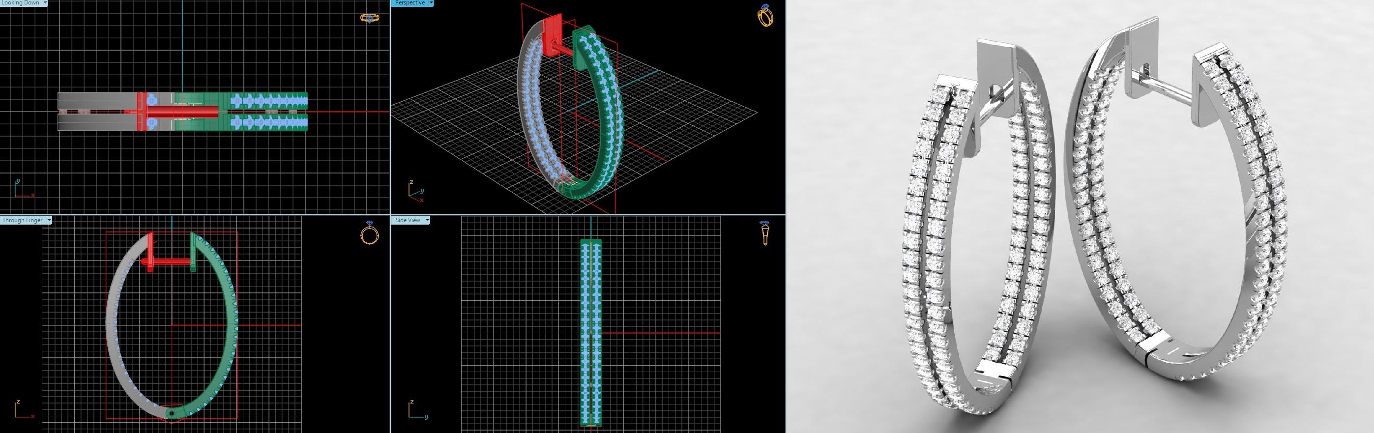 Custom Designs using Cad Cam Technology Jewelry Design Gallery