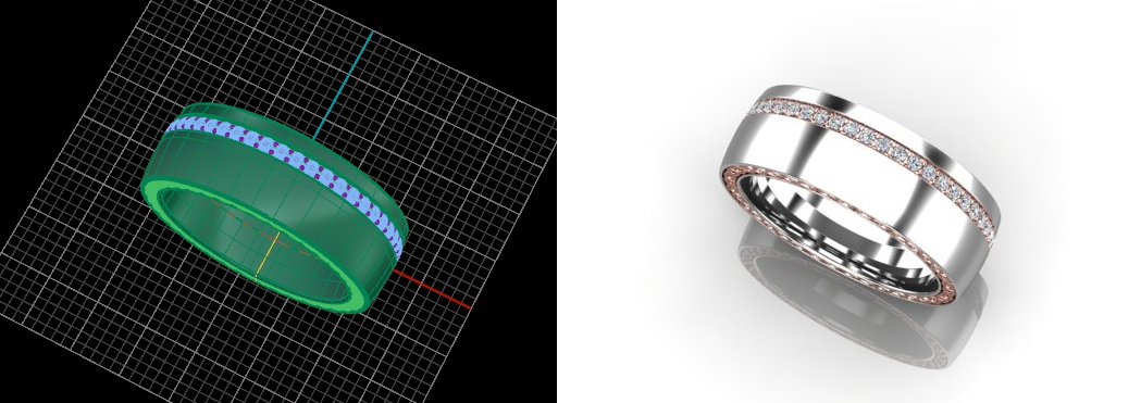 gents, lady's, platinum,14kt,18kt, custom design diamond wedding band