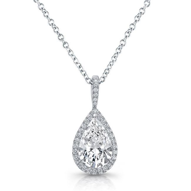 Diamond Solitaire Necklaces Jewelry Design Gallery