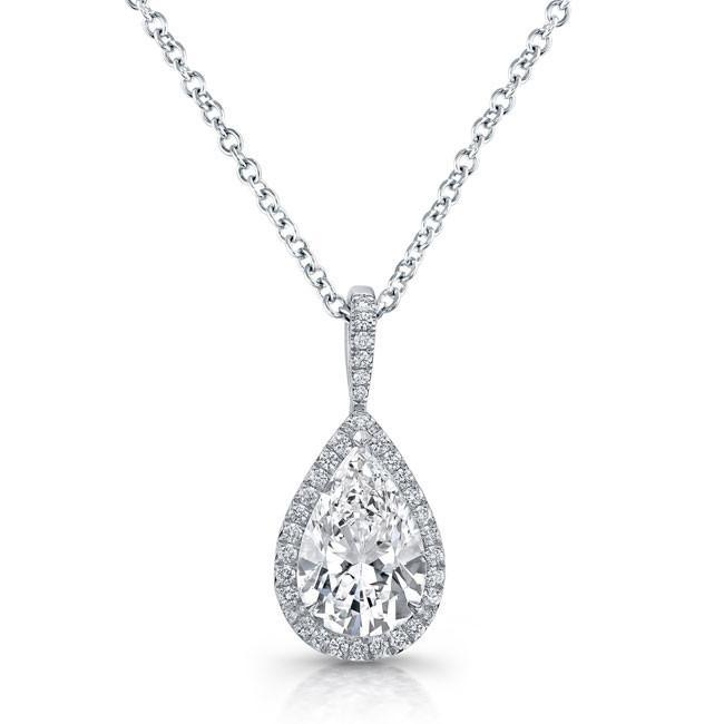 Diamond Solitaire Necklaces Jewelry Design Gallery