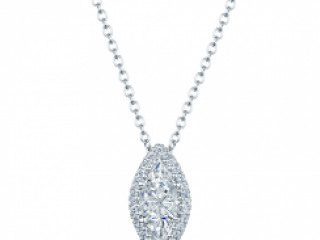 Diamond solitaire with a Halo of diamonds, Marquise, oval, round pear shaped