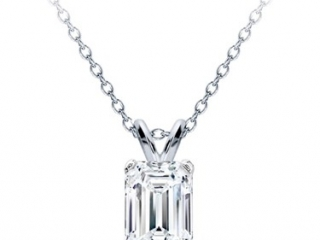 Diamond solitaire necklace, tiffanyDiamond solitaire necklace, tiffany, halo pattern