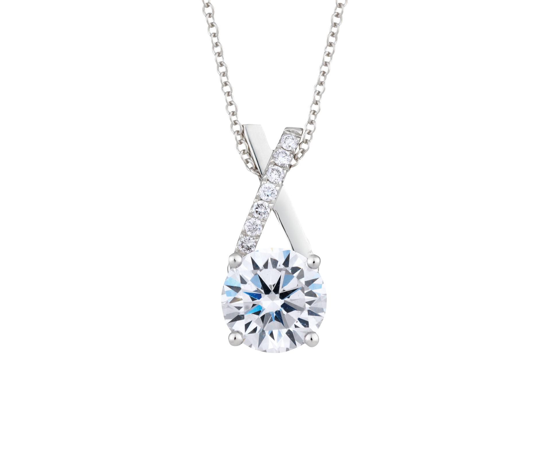 Diamond solitaire necklaces jewelry design gallery diamond solitaire necklace aloadofball Images